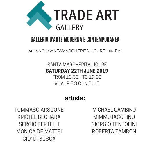 Giorgio Tentolini, Kristel Bechara, Trade Art Gallery